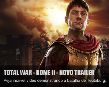 Total War: Rome II incrvel trailer de Teutoburg