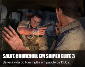 "Nova campanha ""Save Churchill"" para Sniper Elite 3"