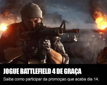 Jogue battlefield 4 de graça por uma semana