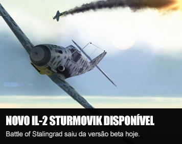 Novo IL-2 Sturmovik: Battle of Stalingrad disponível