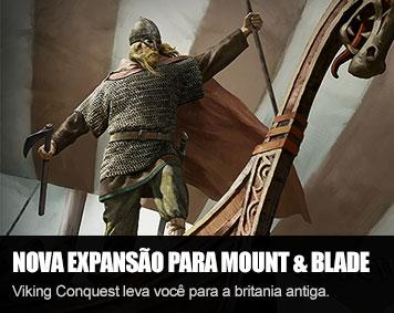 Viking Conquest é a nova expansão para Mount & Blade Warband