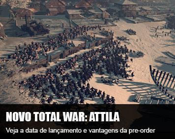 Total War: Attila tem data de lançamento e vantagem de pre-order anunciada