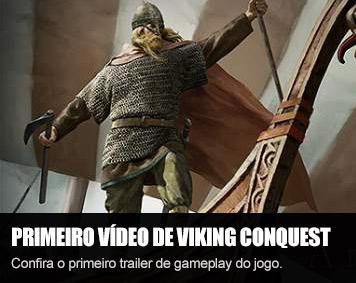 Primeiro vídeo de gameplay de Viking Conquest