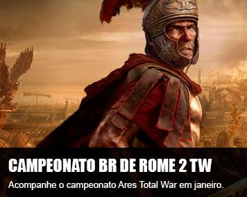 Está rolando o 1º Campeonato Ares Total War
